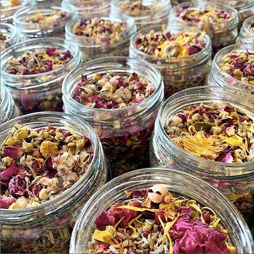 Wild Harvest Botanicals Bath Tea