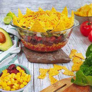 Nacho Schicht-Salat 🌱