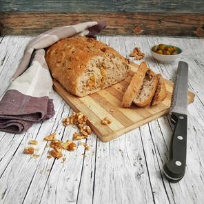 Walnuss Oliven Chiabatta Brot 🌱🌱