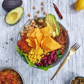 Mexican Quinoa Bowl 🌱🌱