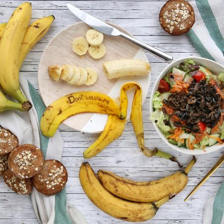 Nie wieder Bananen wegschmeißen - 5 Wege Bananen vor dem Müll zu retten!