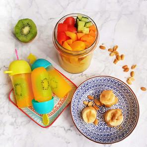 3 gesunde Snack-Ideen 🌱🌱