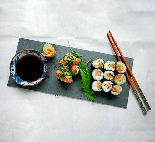 Simple Sushi Plate 🍣__Es war mal wieder