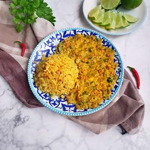 Indisches Dhal-Curry mit Gewürzreis 🌱🌱