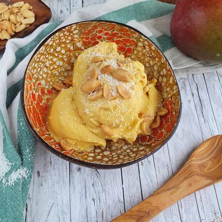 Vegane Mango-Kokos Eiscreme 🌱🌱