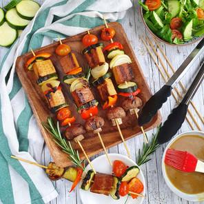 Gemüse-Tofu Spieße  🌱 🌱
