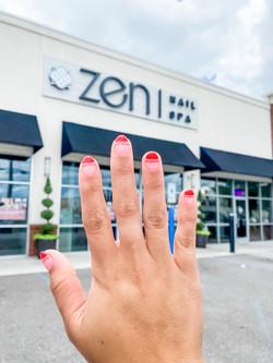 Zen Nail Spa Manicure