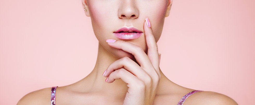 Zen Nail Spa Chattanooga TN beautiful woman pink nails manicure beauty