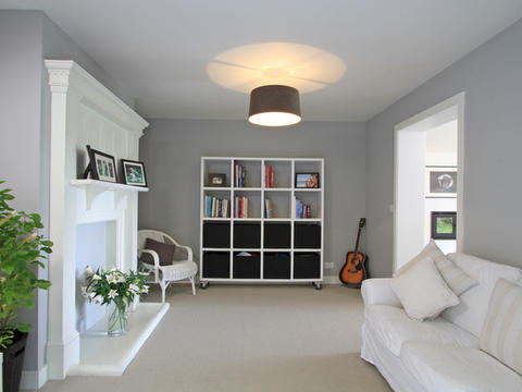 After renovation living room in Haslemere
