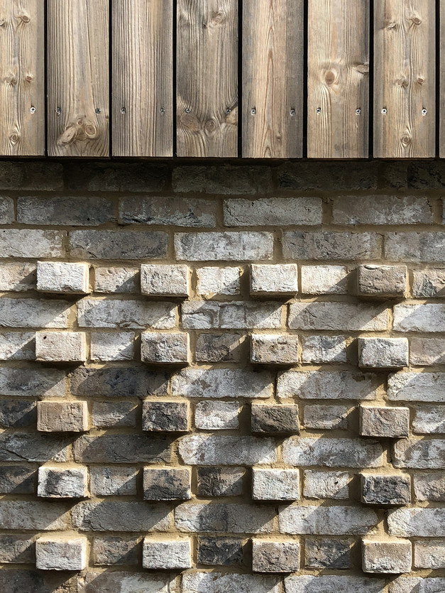 Majestic brick detail with Kebony timber cladding
