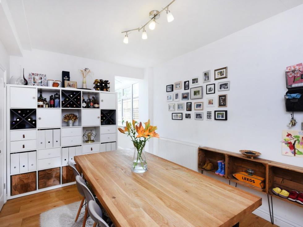 Dining room renovation in Kingston, London