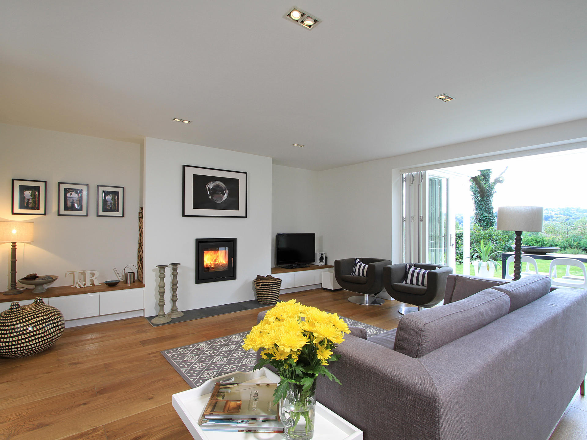 Living room extension in Haslemere