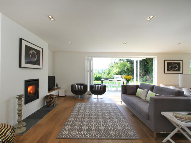 After living room extension & refurbishment in Haslemere