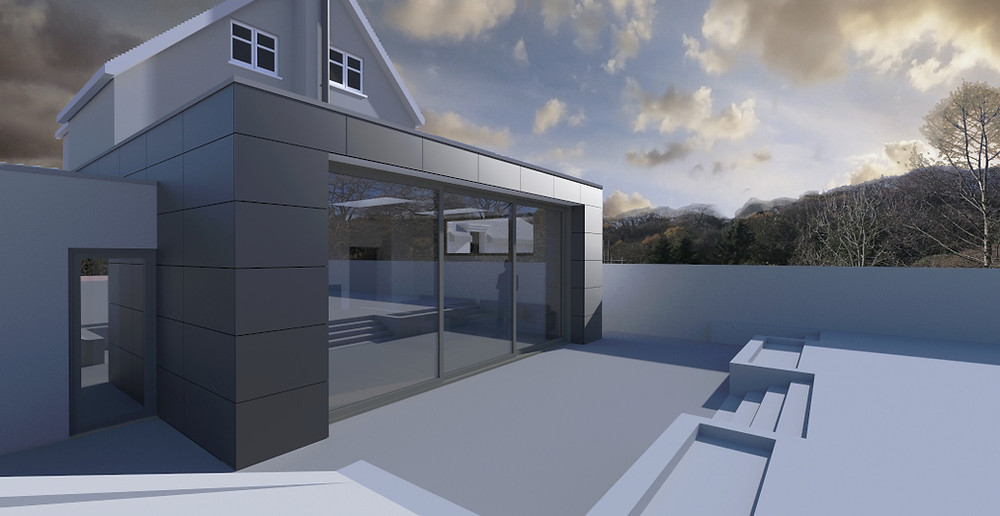 Single storey extension in Haslemere, Surrey
