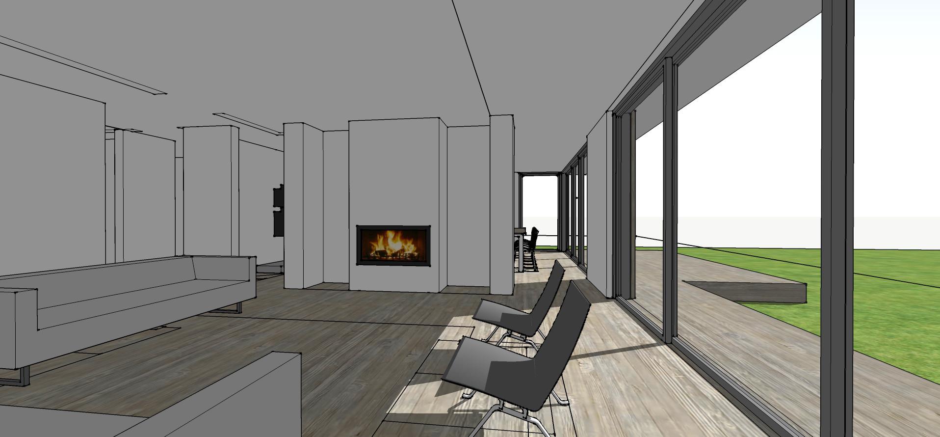 Architectural sketch design 3D model in Surrey
