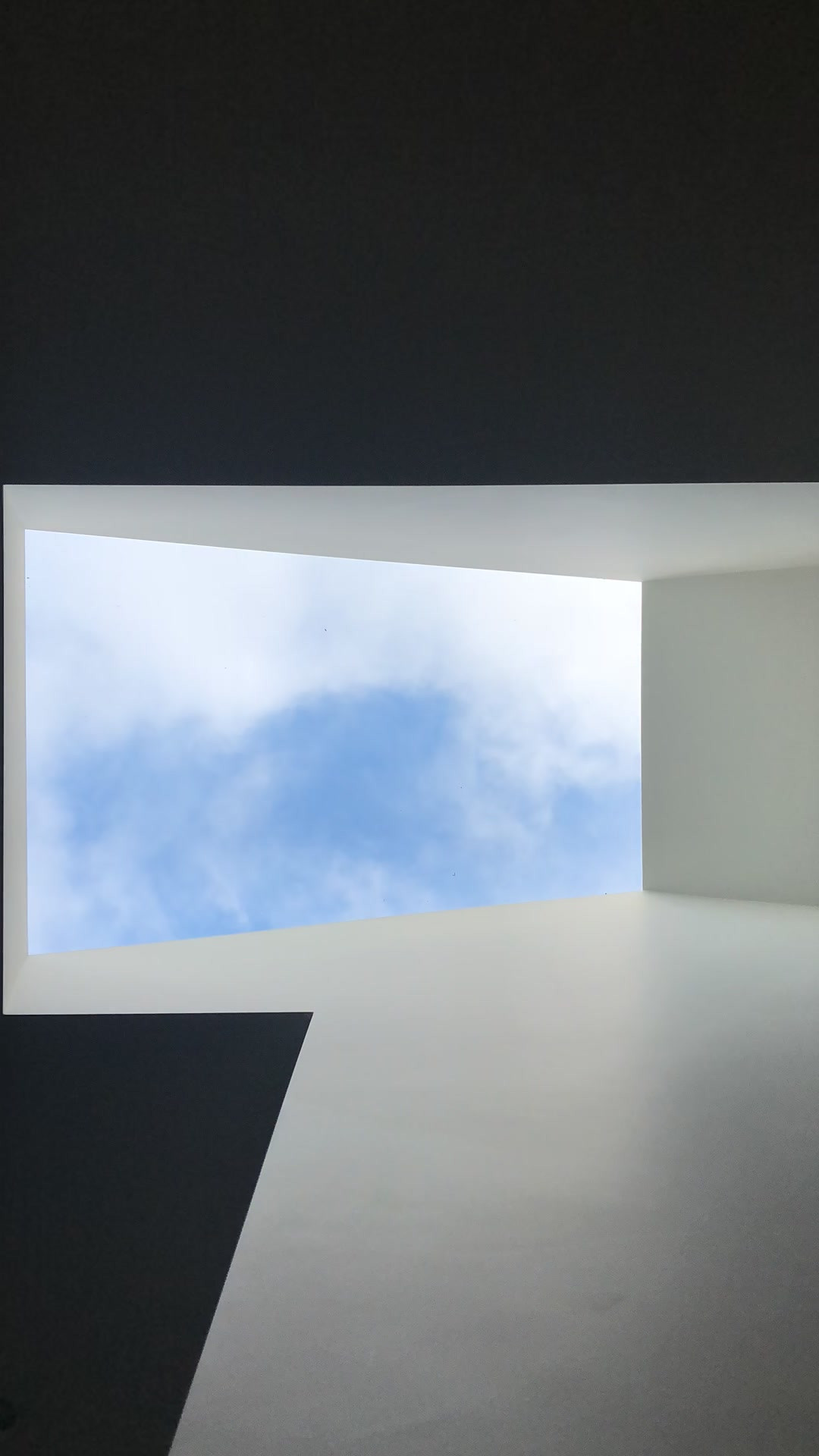Modern house architecture skylight in Haslemere