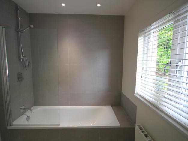 After renovation modern bathroom in Surrey