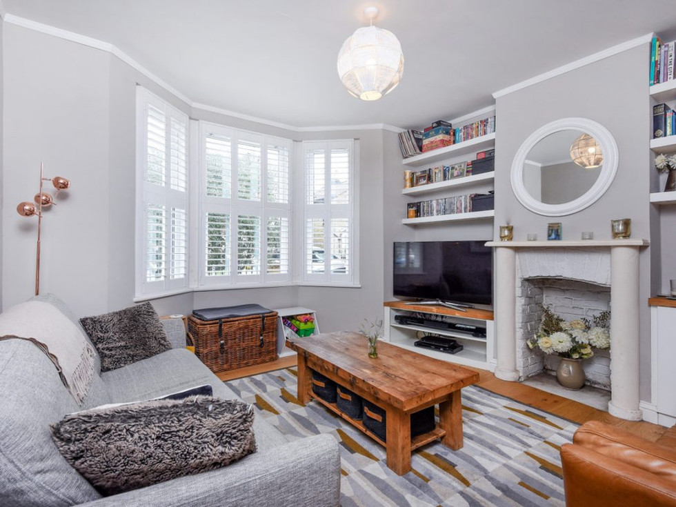 Living room renovation in Kingston, London