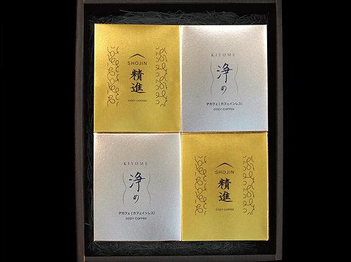 「精進&浄め」箱入りデラックスセット(5個入り×2種を2セット)