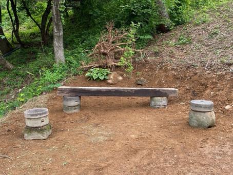 5月27日 明け方の里山・お客様のお庭の手入れ