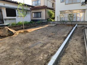 工事日誌 Vol.19   植栽と地先ブロック設置工事