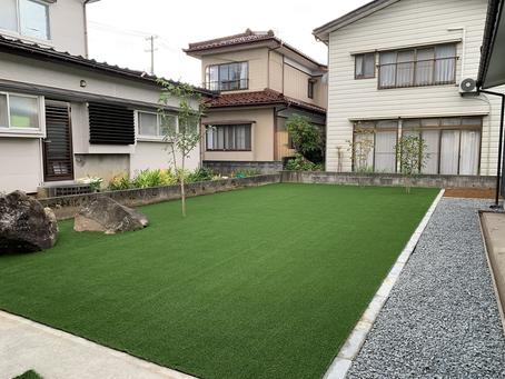 工事日誌 Vol.20    お庭の工事完成