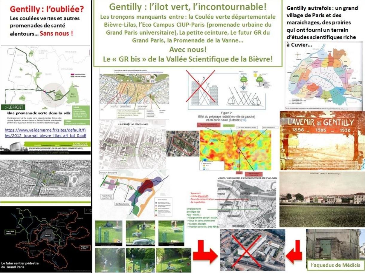 Relier le GR du Grand Paris