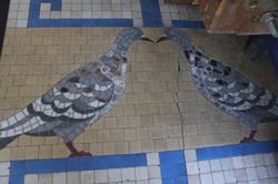 Mosaïque colombe