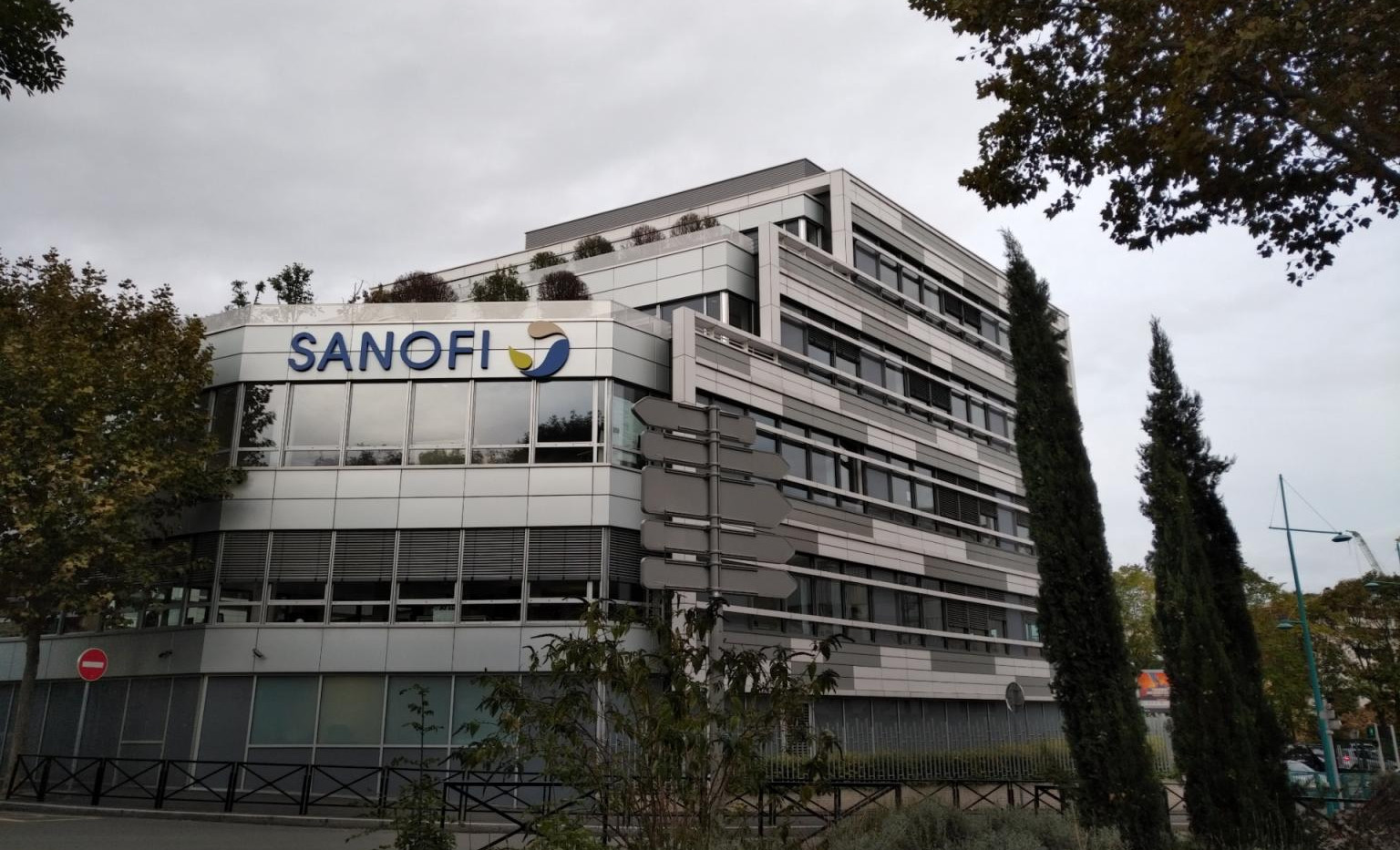 Siège de Sanofi