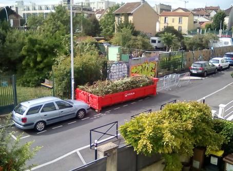 Opération déchets verts terminée en 2h00