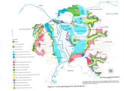 Carte géologique 94