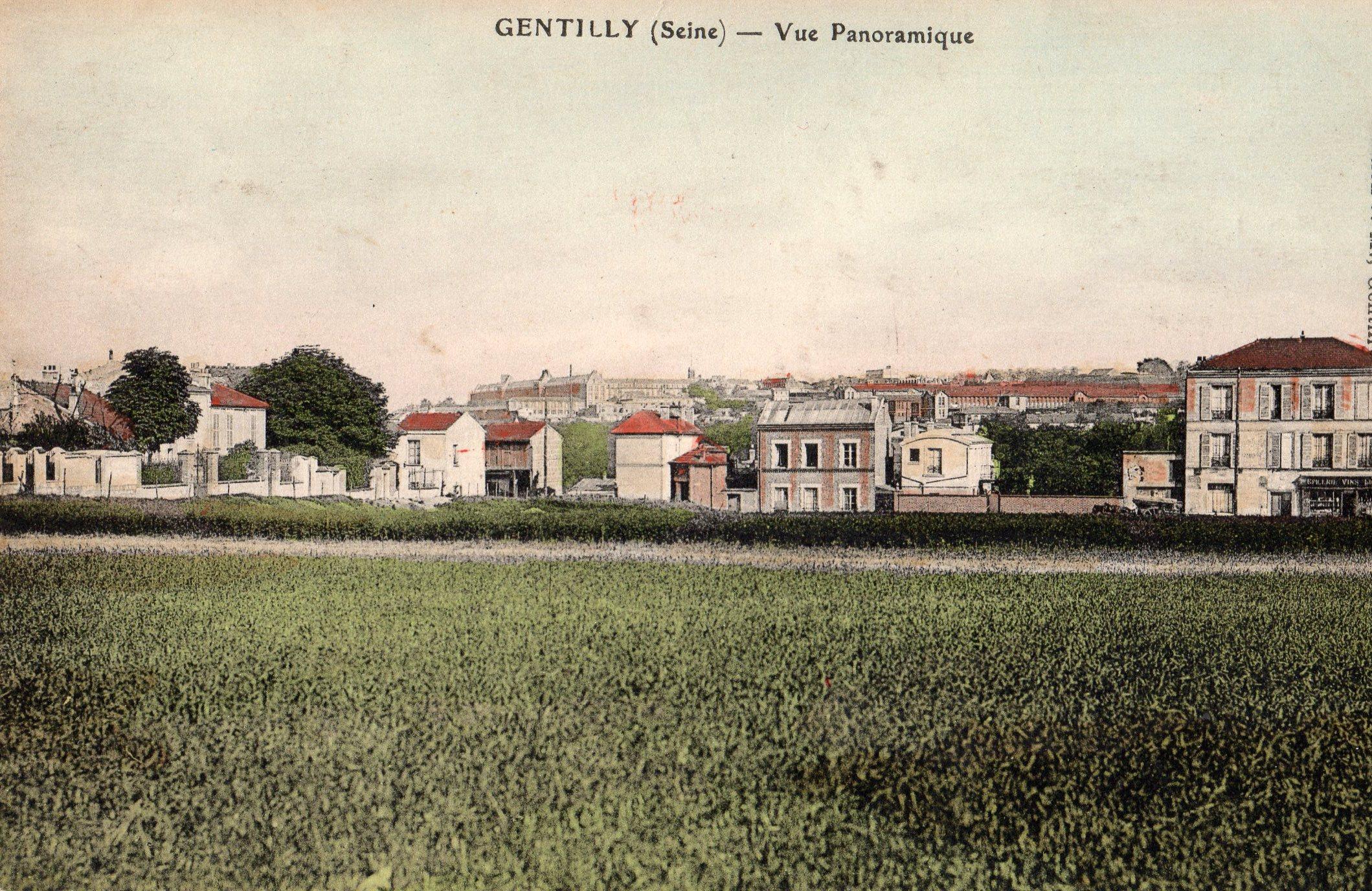 Vers 1900 L'ilot vert