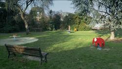 Ilot vert - Petit square