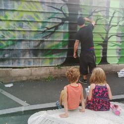 Street-art par Benjamin