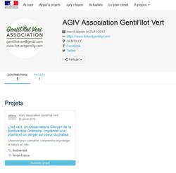 Projet Gentil'îlot vert