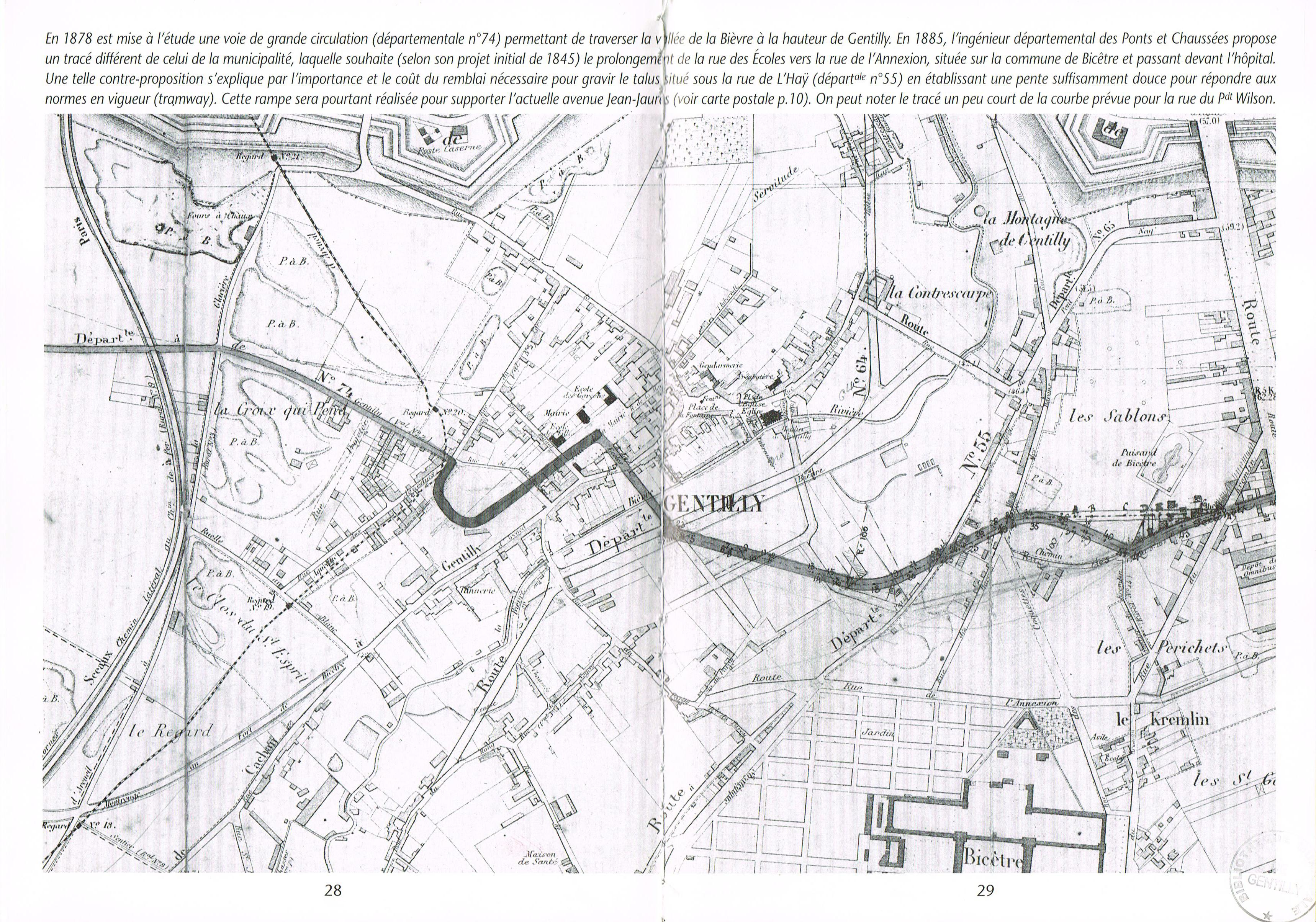 Plan général 1885
