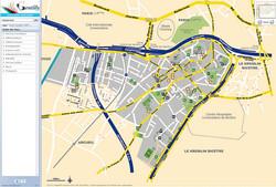 Plan ville Gentilly