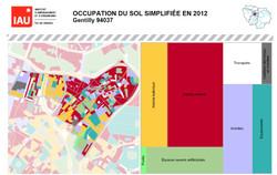 Occupation du sol 2012