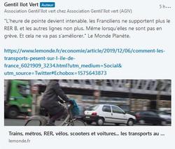 Le RER B !