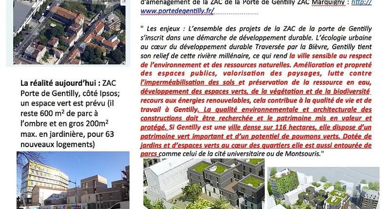ZAC Marquigny : peut mieux faire