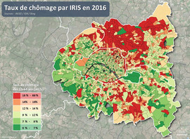 Taux de chomage INSEE 2019