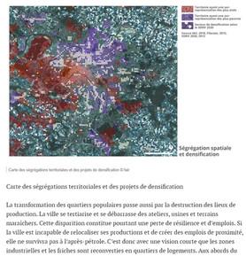 Ségrégation spatiale et densification