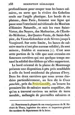 Description géologique des environs de Paris De Georges baron Cuvier, Alexandre Brongniart