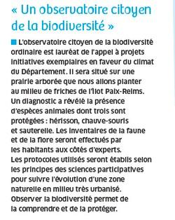 Article Journal Val de Marne