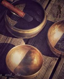photo de bols tibétains