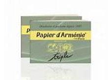 Papier d'Arménie en carnet