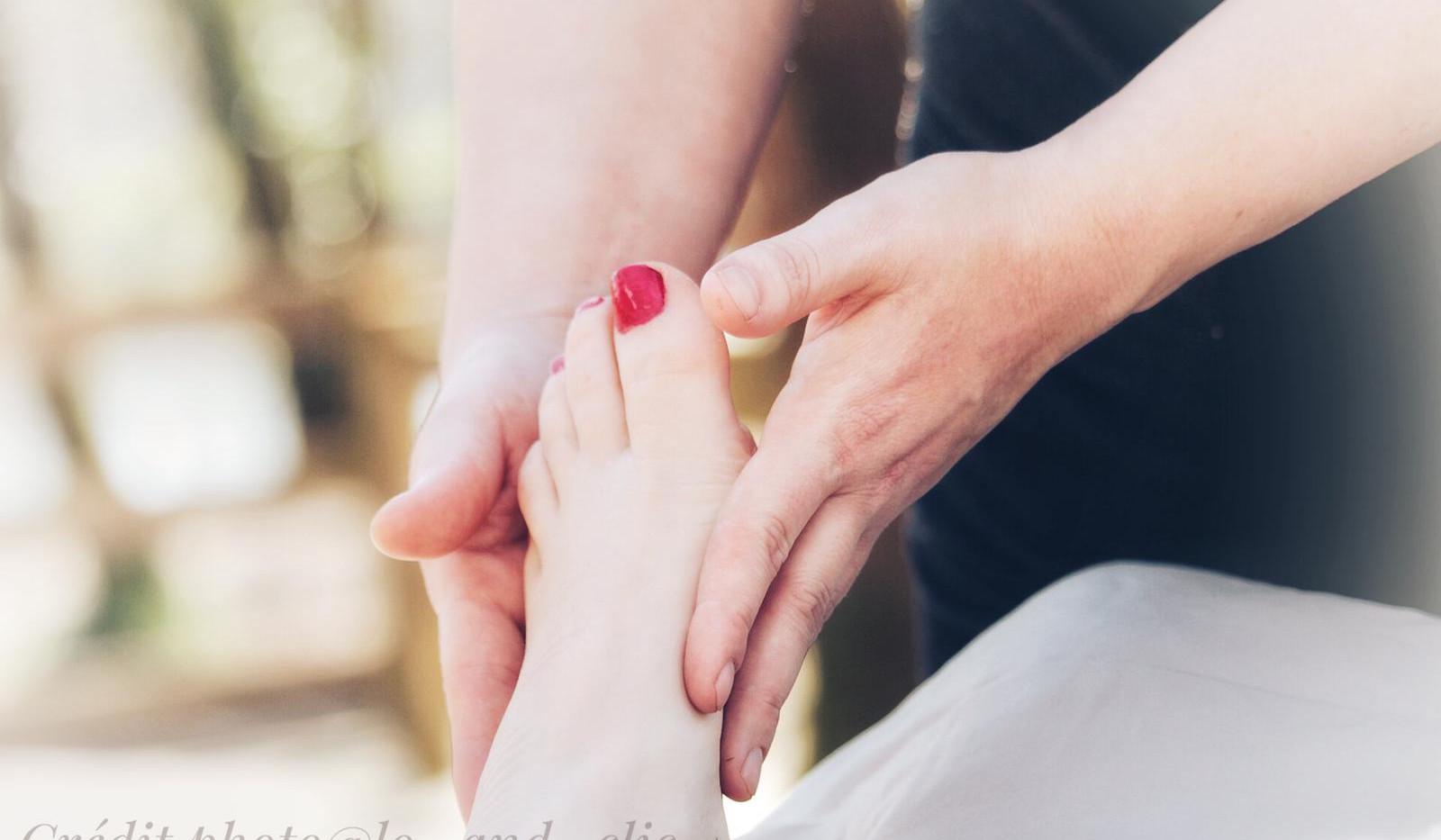 pieds détente
