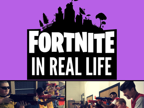FORTNITE In Real Life on October 24