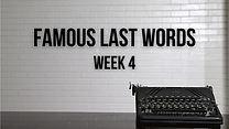 Famous Last Words - YouTube Thumbnail (3