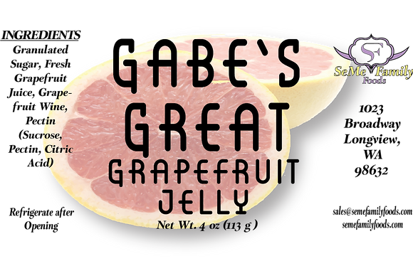 Gabes Great Grapefruit Jelly